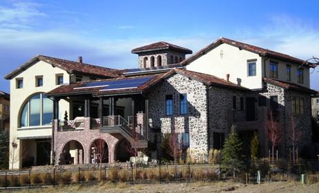 Custom Home in Solterra, Lakewood, Colorado