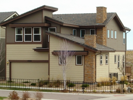 Example of available new housing in Parker, Colorado