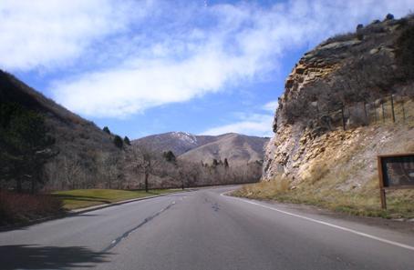 Entering Ken Caryl Community Jefferson County Colorado