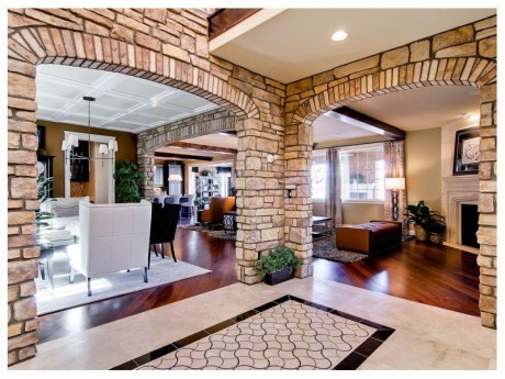 The Overlook Plan 1 entry foyer