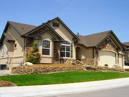 Semi custom home, Jackson Creek community, Monument Colorado